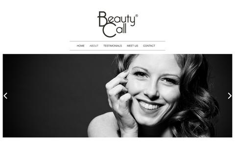 Screenshot of About Page beautycall.co.uk - About | Beauty Call | Hair and Makeup Artist Agency - captured Dec. 31, 2015