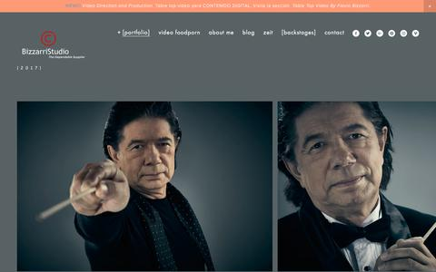 Screenshot of Team Page bizzarristudio.com - People BizzarriStudio — BizzarriStudio  Flavio Bizzarri - captured March 12, 2018