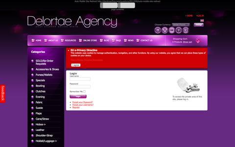 Screenshot of Login Page luxuryonlinestore.net - Your SEO optimized title - captured Nov. 24, 2016