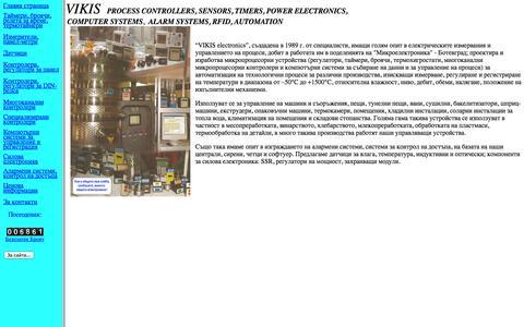 Screenshot of Home Page vikis01.com - Vikis - Main page - captured Sept. 30, 2014