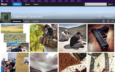 Screenshot of Flickr Page flickr.com - Flickr: Deliberate Dynamics' Photostream - captured Oct. 23, 2014