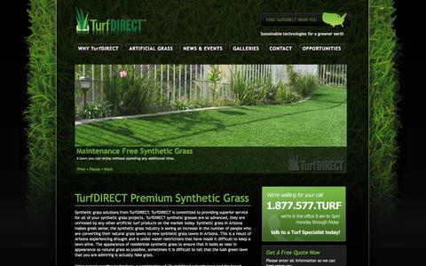 Screenshot of Home Page turfdirect.com - TurfDIRECT |Turf Direct | Synthetic Grass | Artificial Turf - captured Oct. 9, 2014