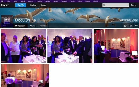 Screenshot of Flickr Page flickr.com - Flickr: DocuOnline's Photostream - captured Oct. 22, 2014