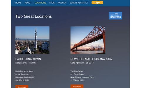 Screenshot of Locations Page parexel.com - Locations | PAREXEL - captured Feb. 3, 2017
