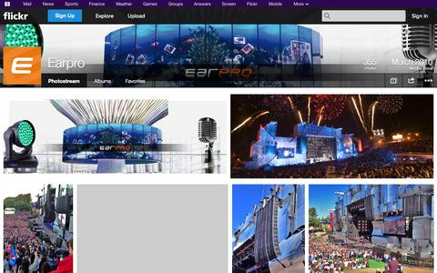 Screenshot of Flickr Page flickr.com - Flickr: Earpro's Photostream - captured Oct. 22, 2014