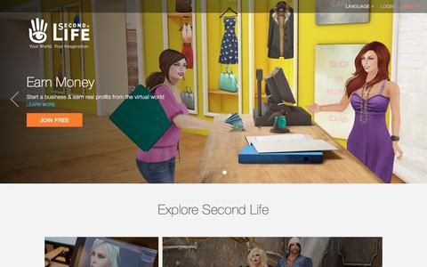 Second Life Official Site - Virtual Worlds, Avatars, Free 3D Chat