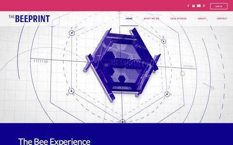 Screenshot of Home Page thebeeprint.com - THE BEEPRINT - The Beeprint - captured July 8, 2018