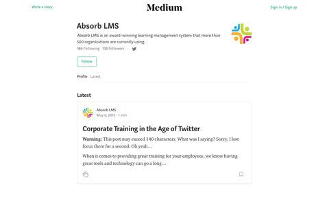 Absorb LMS – Medium