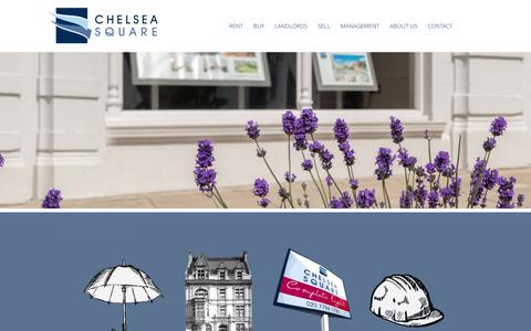 Screenshot of Team Page chelsea-square.co.uk - Management | Estate Agent West Hampstead NW6 Cricklewood NW2 Sales Rentals - captured Nov. 5, 2016