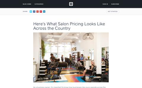 Screenshot of Pricing Page squareup.com - Here's What Salon Pricing Looks Like Across the Country - captured July 26, 2017