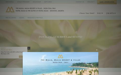 Screenshot of Jobs Page themulia.com - Career Jakarta | Career Bali | Mulia Group - captured Jan. 29, 2016