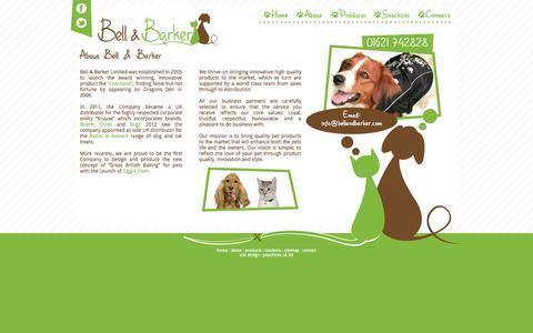 Screenshot of About Page bellandbarker.com - About | Bell & Barker - captured Oct. 5, 2014