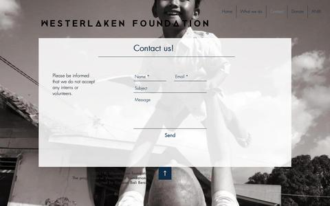 Screenshot of Contact Page soulsurfprojectbali.com - soulsurfprojectbali | Contact - captured Dec. 13, 2018