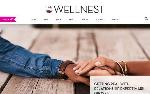 Screenshot of Blog humnutrition.com - HUM Nutrition Blog | The Wellnest | Beauty From The Inside Out - captured Nov. 13, 2019