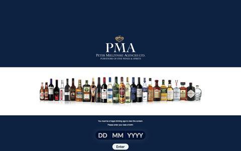Screenshot of Home Page pmacanada.com - Home - PMA Canada - captured May 13, 2017