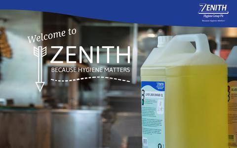 Screenshot of Terms Page zhgplc.com - Terms & Conditions | Zenith Hygiene - captured Dec. 3, 2016