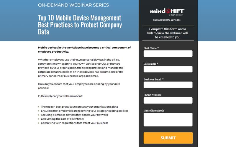 Top 10 Mobile Device Management Best Practices to Protect Company Data