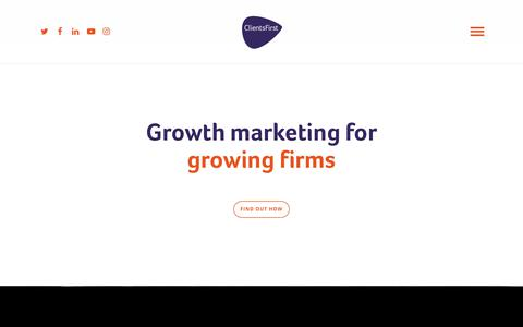ClientsFirst | B2B Growth Marketing Agency | Macclesfield, Cheshire