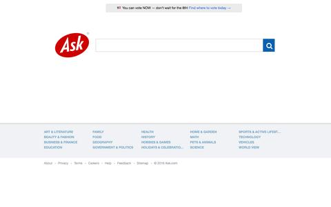 Ask.com - What's Your Question?