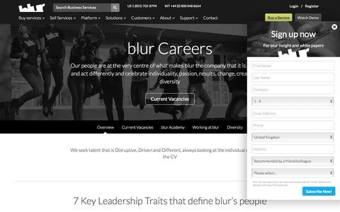 Careers | blur Group