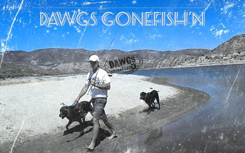 Screenshot of Home Page dawgsgonefishn.com - Recreational Fishing Resource-Learn How to Fish - DAWGS GoneFish'N - captured Oct. 7, 2014