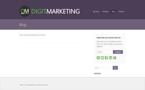 Online Performance Marketing Blog - Digit Marketing
