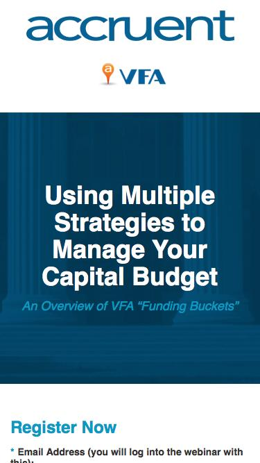 Using Multiple Strategies to Manage Your Capital Budget