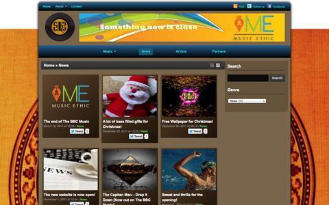 Screenshot of Press Page thebbcmusic.com - The BBC Music – News - captured Sept. 30, 2014