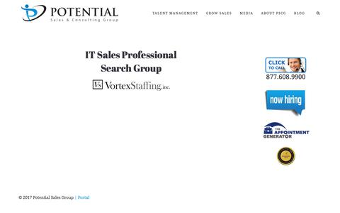 IT Sales Professional Search Group – Potential Sales and Consulting Group
