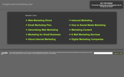 insight-web-marketing.com-This website is for sale!-insight-web-marketing Resources and Information.
