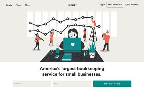 Online Bookkeeping Services for Your Small Business | Bench