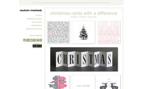 Design-led Christmas Cards & Art Prints. Made In Britain. Naturally.