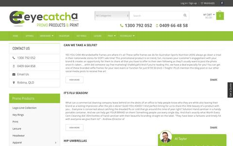 Screenshot of Blog eyecatcha.com.au - Blog - Eye Catcha Promo Products - captured Sept. 30, 2018