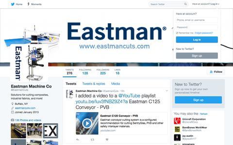 Eastman Machine Co (@EastmanCuts) | Twitter