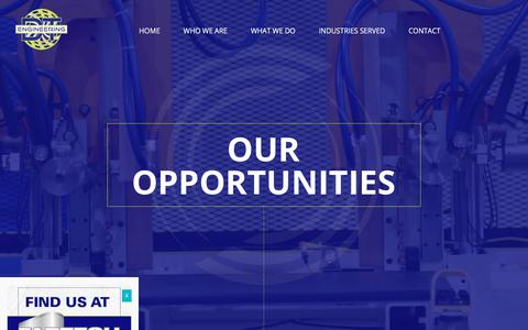 Screenshot of Jobs Page dtengineering.com - Our Opportunities - DTE, Inc. - captured Oct. 11, 2017