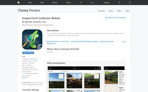 InspectTech Collector Mobile on the App Store