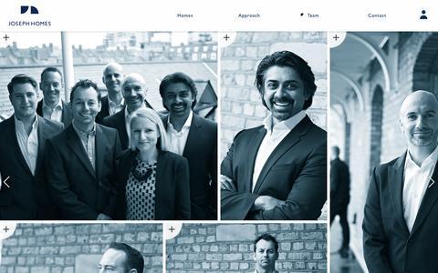 Screenshot of Team Page josephhomes.co.uk - Joseph Homes   People - captured Sept. 30, 2014
