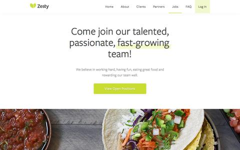 San Francisco Catering | Corporate and Office Bay Area Catering | Zesty