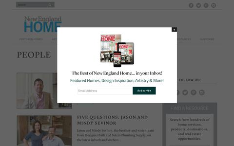 Screenshot of Team Page nehomemag.com - People Archives - New England Home Magazine - captured Oct. 19, 2018
