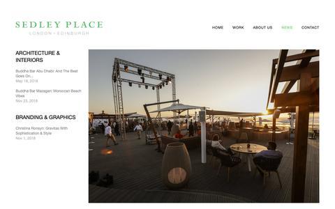 Screenshot of Press Page sedley-place.com - News — Sedley Place - captured Nov. 29, 2018