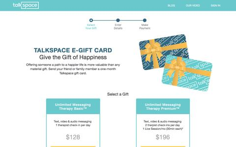 Talkspace | Giftcards