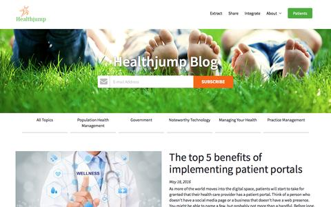 Healthjump Blog