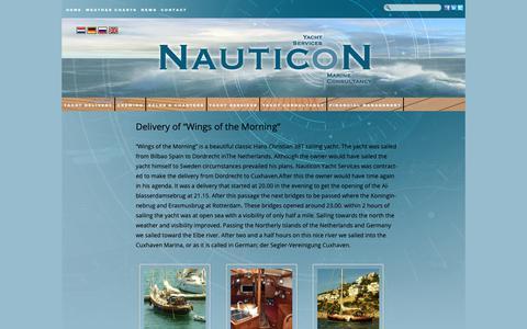 Screenshot of Press Page nauticon.nl - News | Nauticon - captured Oct. 18, 2018