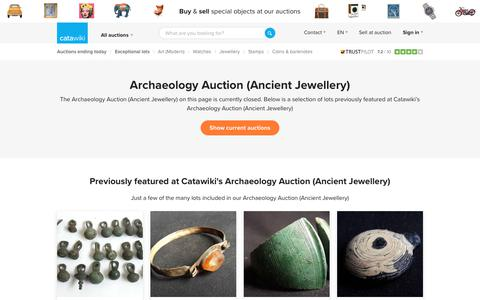 Archaeology Auction (Ancient Jewellery)  - Catawiki