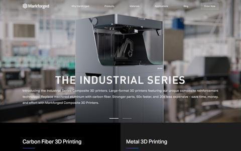 High Strength 3D Printing – Markforged