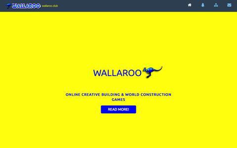 Screenshot of Home Page wallaroo.club - Wallaroo - captured June 19, 2015