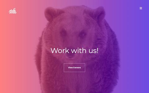 Screenshot of Jobs Page 3bears.co.il - Careers | 3bears.co.il - שלושת הדובים - חברת מיתוג ודיגיטל - captured Dec. 11, 2017