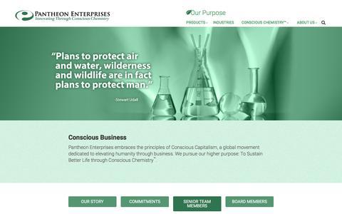 Screenshot of Team Page pantheonchemical.com - Staff | - captured Dec. 6, 2015