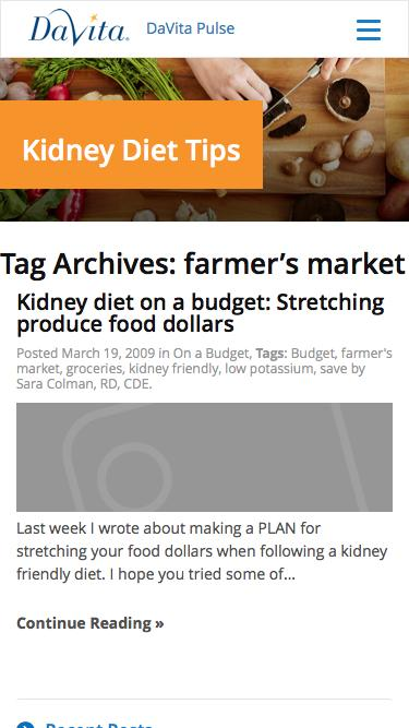 farmer's market Archives - Kidney Diet Tips