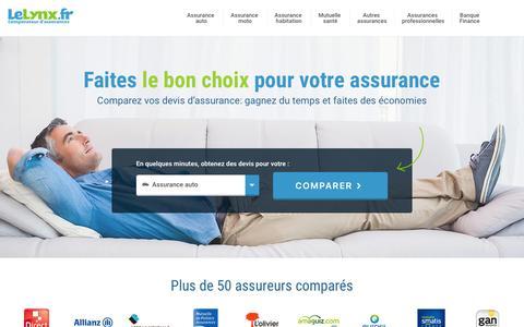 Comparateur Assurance : Devis Gratuits en 5 min - LeLynx.fr